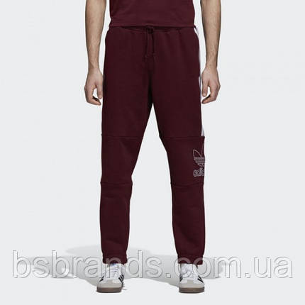 Мужские спортивные брюки adidas OUTLINE (АРТИКУЛ:DH7073), фото 2