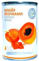 Папайя кусочками в легком сиропе LUCK SIAM  425 г