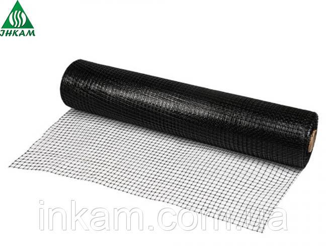 Сетка пластиковая от кротов под газон UNINET (Польша), 26 г/м², ячейка 14х16 мм, 1х50м