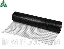 Сітка пластикова від кротів під газон UNINET (Польща), 26 г/м2, осередок 14х16 мм, 1х50м