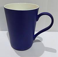 Кружка Latte Хамелеон фарфор Синяя