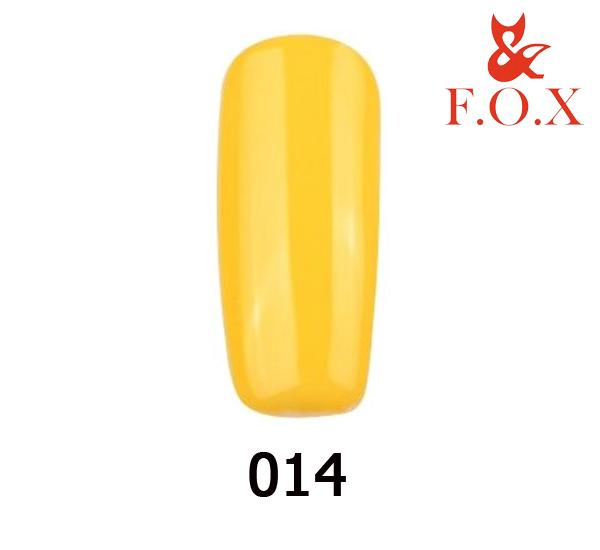 Гель-лак FOX Pigment № 001 (желтый), 6 мл