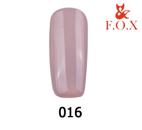 Гель-лак FOX Pigment № 016 (каппучино), 6 мл