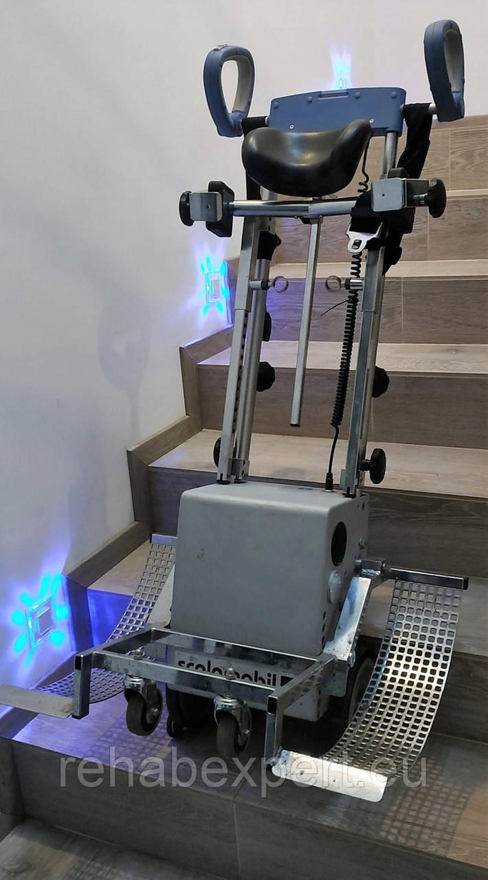 Универсальный Ступенькоход подъемник лестничный Alber Scalamobil S25 / S27+ Scalaport Wheelchair Stair Climber