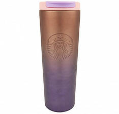 Термокружка хамелеон матовая Starbucks тамблер 473мл
