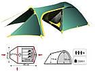 Намет Tramp Grot 3 м, v2 TRT-036. Палатка туристическая 3 месная. Намет туристичний, фото 8