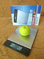 Кухонные весы BOMANN (Германия) c  информацией о температуре