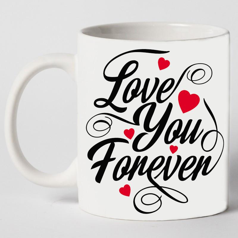 "Чашка ""Love you forever"""