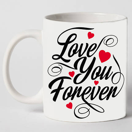 "Чашка ""Love you forever"", фото 2"