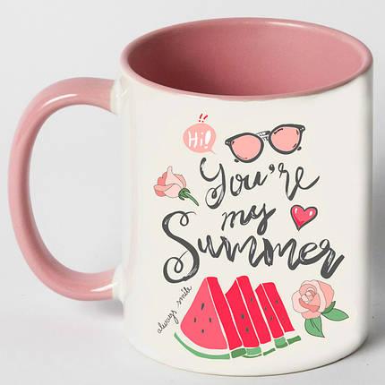 """Чашка """"You are my summer"""", фото 2"""