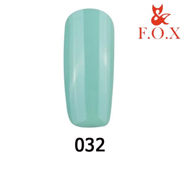 Гель-лак FOX Pigment № 032( серо-мятный), 6 мл