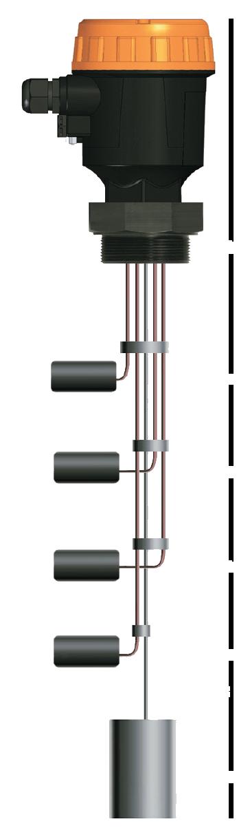 Поплавковый датчик уровня серии ELA 600