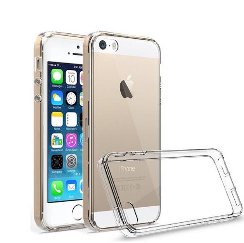 Чехол Cafele прозрачный силиконовый для Apple iPhone5/5S/SE (IPH5)