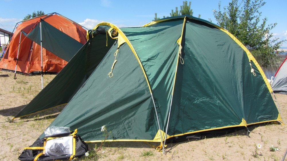 Намет Tramp Space 4. Палатка туристическая. Намет туристичний