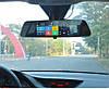 """Автомобильный Регистратор зеркало DVR T518 Silver 7"""" сенсор, 2 камеры, GPS+ WiFi, 8Gb, Android, 3G, фото 3"""