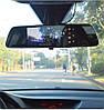 """Автомобильный Регистратор зеркало DVR T518 Silver 7"""" сенсор, 2 камеры, GPS+ WiFi, 8Gb, Android, 3G, фото 5"""