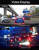 """Автомобильный Регистратор зеркало DVR T518 Silver 7"""" сенсор, 2 камеры, GPS+ WiFi, 8Gb, Android, 3G, фото 7"""
