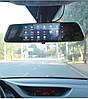 """Автомобильный Регистратор зеркало DVR T518 Silver 7"""" сенсор, 2 камеры, GPS+ WiFi, 8Gb, Android, 3G, фото 8"""