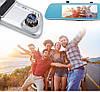 """Автомобильный Регистратор зеркало DVR T518 Silver 7"""" сенсор, 2 камеры, GPS+ WiFi, 8Gb, Android, 3G, фото 9"""