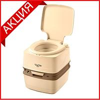 Біотуалет Thetford Porta Potti 165 Luxe бежевий (туалет для дачі, кемпінгу та догляду за хворими), фото 1