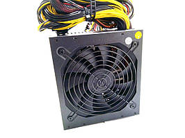 Мощный блок питания для ПК ATX SD-1600W ПОД 6-8 ВИДЕОКАРТ
