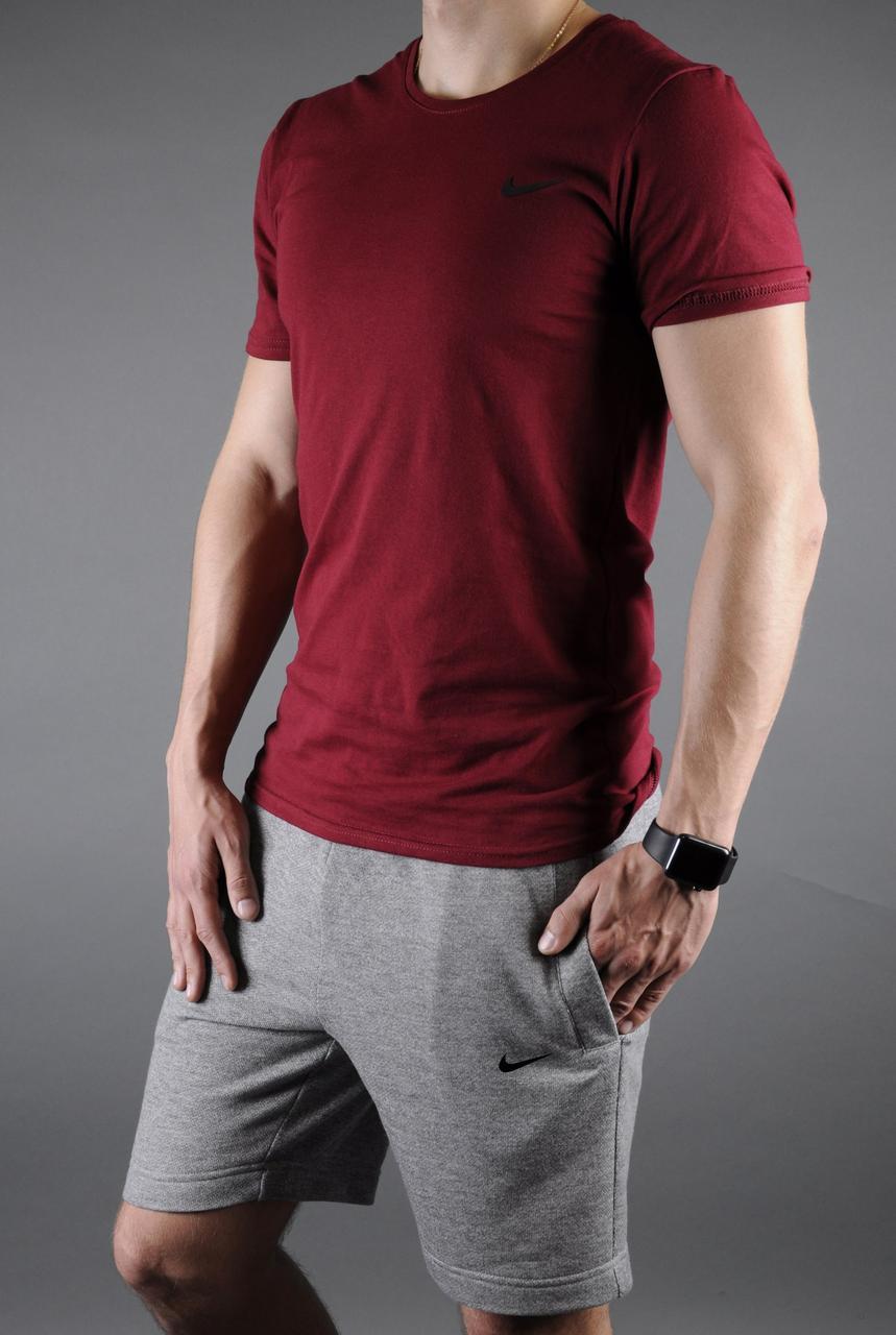 Мужской спортивный летний комплект, футболка и шорты