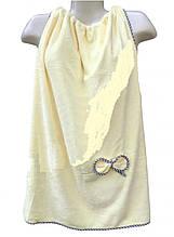 Полотенце Халат 140*80 см лимон