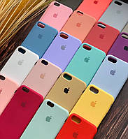 Silicone Case силиконовый чехол на айфон iPhone 5/5s/SE/6/6s/7/8/6+/7+/8+ Plus (силіконовий чохол для айфона)