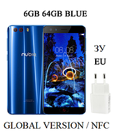 "Смартфон ZTE Nubia Z17 mini S (NX589J) 6/64GB Global / 5.2"" / Snap 653 / NFC/ 13Мп/ 3200мАч"