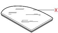 0327.008.660 Кришка контейнеру води(сіра), Stratos