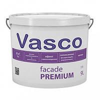 Краска Vasco Facade Premium – 9л., силиконованная фасадная краска