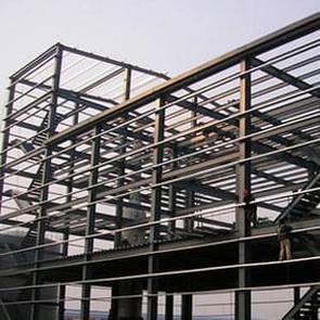 Монтаж металлоконструкций торговых центров