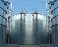 Монтаж вертикальных стальных резервуаров