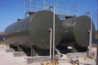 Монтаж горизонтальных стальных резервуаров