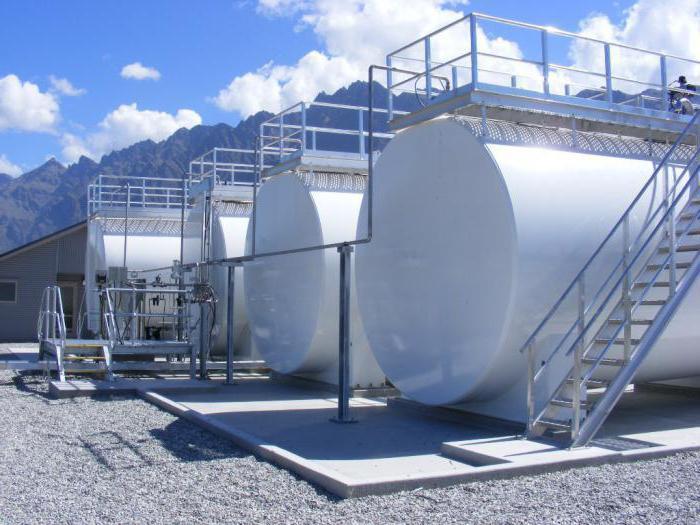 Монтаж наземных горизонтальных резервуаров и емкостей