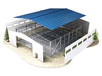 Проектирование ангаров, складов, цехов и сельскохозяйственных зданий