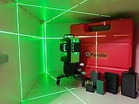 ☀Лазерный 3D уровеньFukuda MW 93Tgreen (3*360) [усиленный пластиковый кейс], фото 1