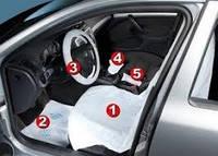 Набор защитных чехлов для автомобиля CARE KIT 5 в 1, фото 1