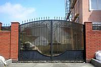 Ворота кованые .забор