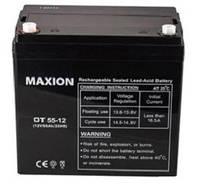 Промышленный Аккумулятор UPS MAXION 12- 55 (12V,55Ah)