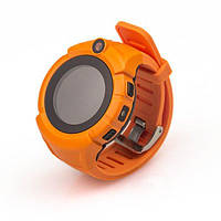Детские умные часы Q 610S с LED фонариком Оранжевые