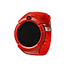 Детские умные часы Q 610S с LED фонариком Красный