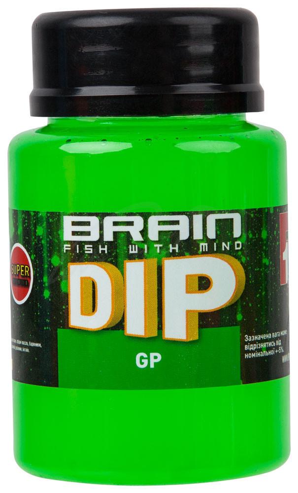 Дип для бойлов Brain F1 GP (зелёный горошек) 100ml