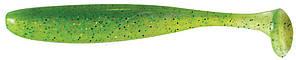 """Силикон Keitech Easy Shiner 3.5"""" ц:424 lime chartreuse"""