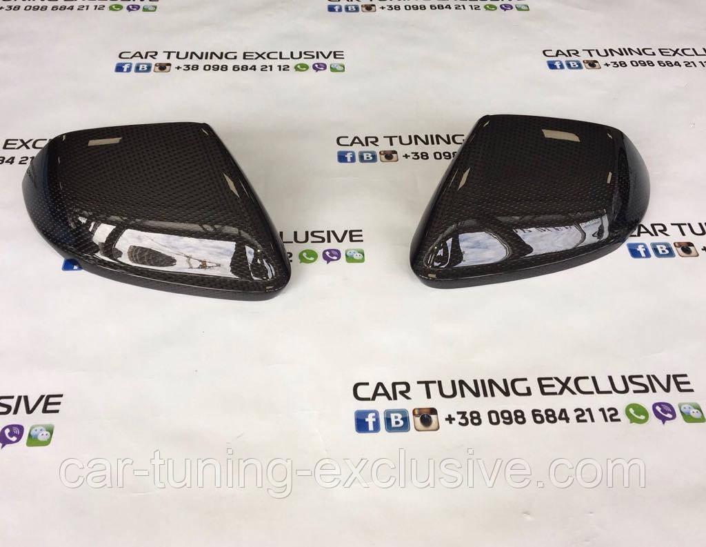 Carbon mirror covers for Lamborghini Urus