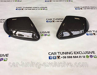 Carbon mirror covers for Lamborghini Urus