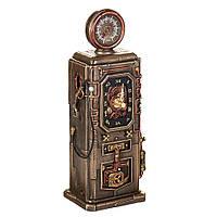 "Статуэтка часы Veronese стимпанк ""Ретро бензоколонка"" 29 см, фото 1"