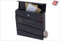 Поштова скринька з оцинкованої сталі замикається SN3645