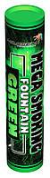 Mega Smoking Fountain GREEN Дымный факел зелёного цвета - дуплекс