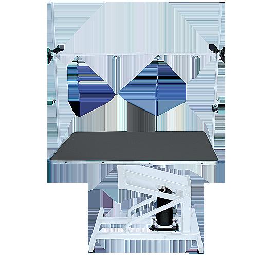 Стол на гидравлическом подъемнике Blovi Venus, черный стол 110x60см